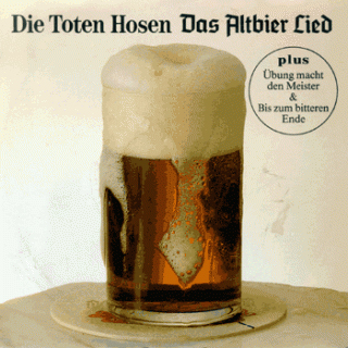 Das Altbierlied Single Cover