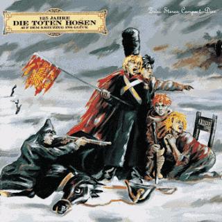 Auf dem Kreuzzug ins Glück - 125 Jahre Die Toten Hosen Albumcover