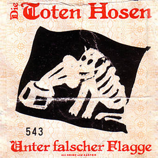 Unter falscher Flagge Tourposter