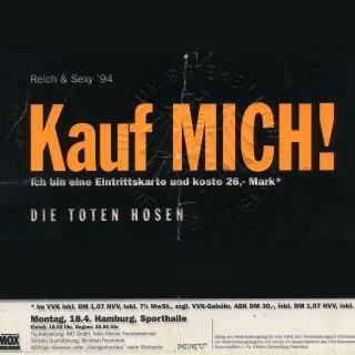 Reich & Sexy - Kauf MICH! Tourposter