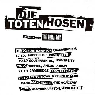 Terrorvision Support Tourposter