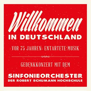 Wilkommen in Deutschland Tourposter